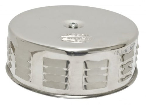 EMPI 8674 Louvered Air Cleaner, Stainless Steel