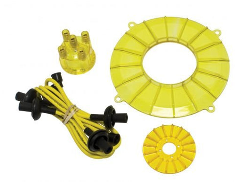 EMPI 8745 Engine Trim Kit, Yellow/Gold