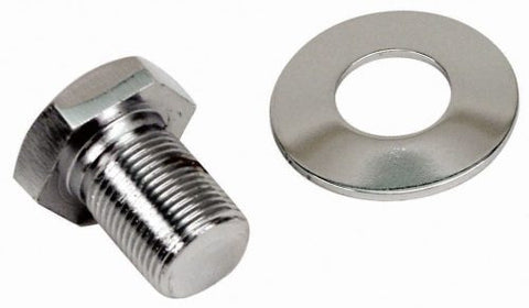 EMPI 9118 Extra Long Chrome Pulley Bolt & Washer