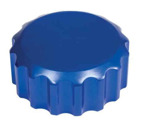 EMPI 1078 Billet Blue Oil Filler Cap with Grooves