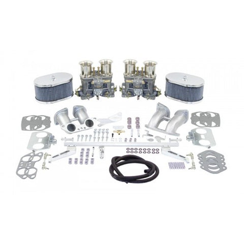 EMPI 43-7347 Dual 40 IDF Carb. Kit for 1700-1800cc with Air Cleaners