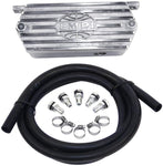 EMPI 8544 Cast Aluminum Oil Breather Kit