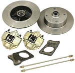 EMPI 2855 Super Beetle Front Disc Brake Kit. 4x130