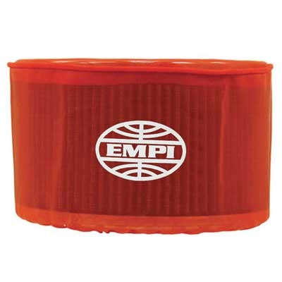 "EMPI 43-6112 Oval, 7"" x 4 1/2"" x 6"", Red"