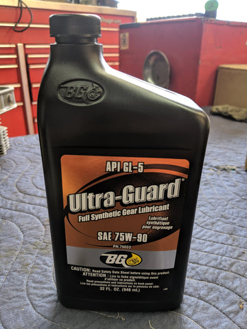 BG Ultra-Guard 75W-90, Quart
