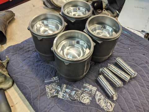 Pistons & Cylinders, 94 mm 2.1 WBX