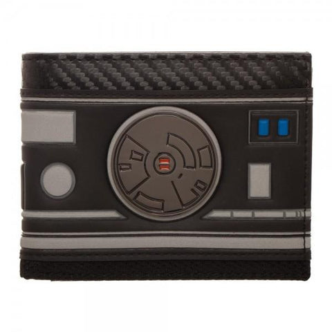 Star Wars Episode 8 BB Unit Bi-Fold Wallet Shop now at the kid squad free shipping