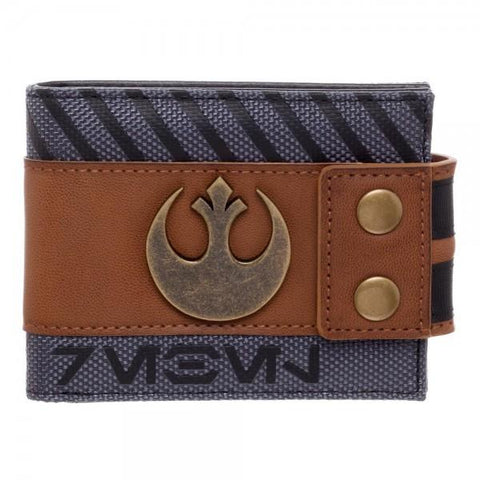 Star Wars Rogue One Rebel Snap Bi-Fold Wallet Shop now at the kid squad free shipping