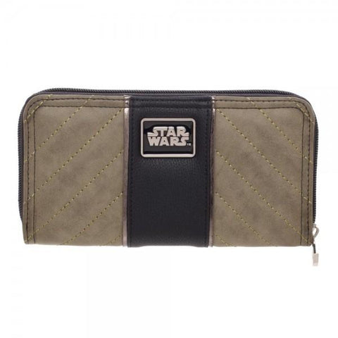 Star Wars Rogue One Rebel Jyn Zip Around Wallet Shop now at the kid squad free shipping