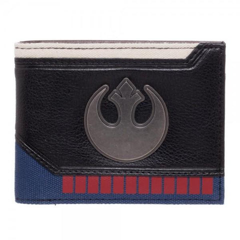 Star Wars Hans Solo Suit Up Bi-Fold Wallet Shop now at the kid squad free shipping