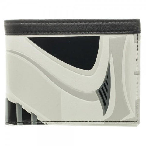 Star Wars Stormtrooper Helmet Bi-Fold Wallet Shop now at the kid squad free shipping