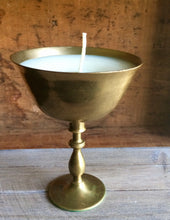 Brass Goblet Candle