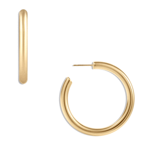 Cecile Large Gold Hoops