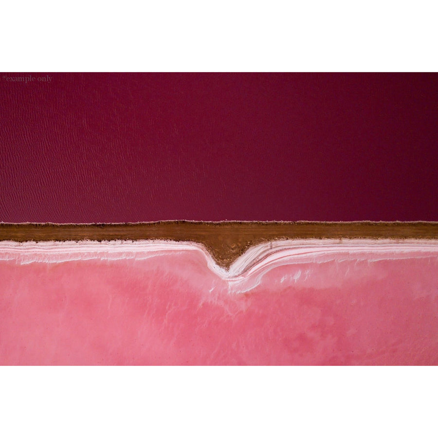 The Pink Lake - stone-unknown