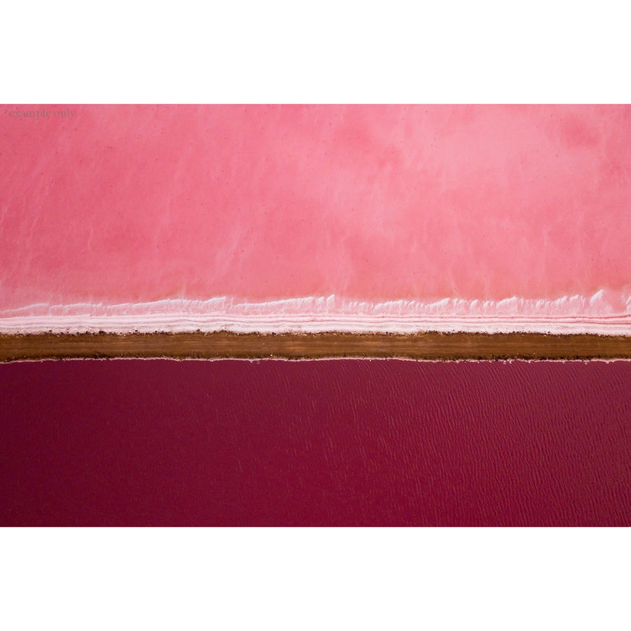 The Straight Pink Lake - stone-unknown