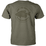 Don't Be Crappie Tee - Heather Green