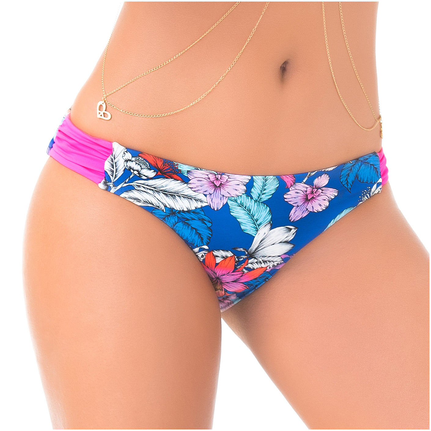 PHAX COLOMBIAN SWIMWEAR | CHEEKY LOW RISE RUCHED BIKINI BOTTOMS
