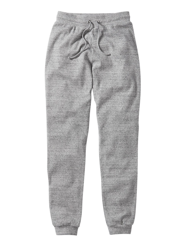 Grey Marl Organic Sweat Bottoms
