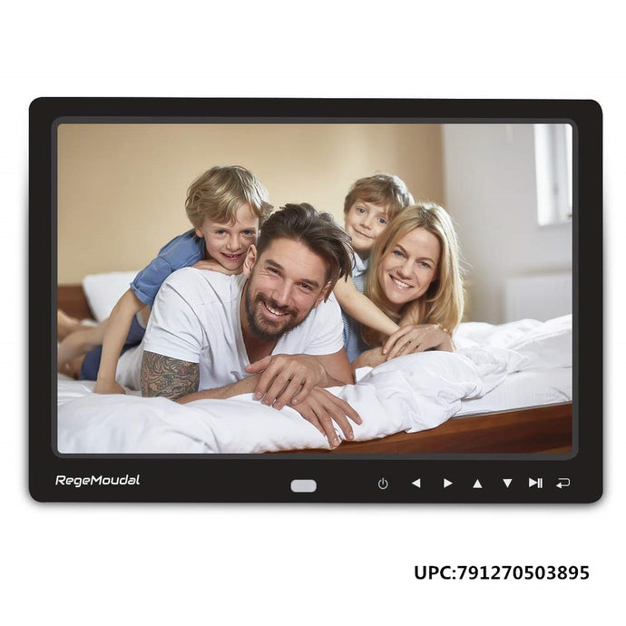 RegeMoudal 12 Inch Digital Photo Frame Picture Frame with Remote Control 1080P High Definition