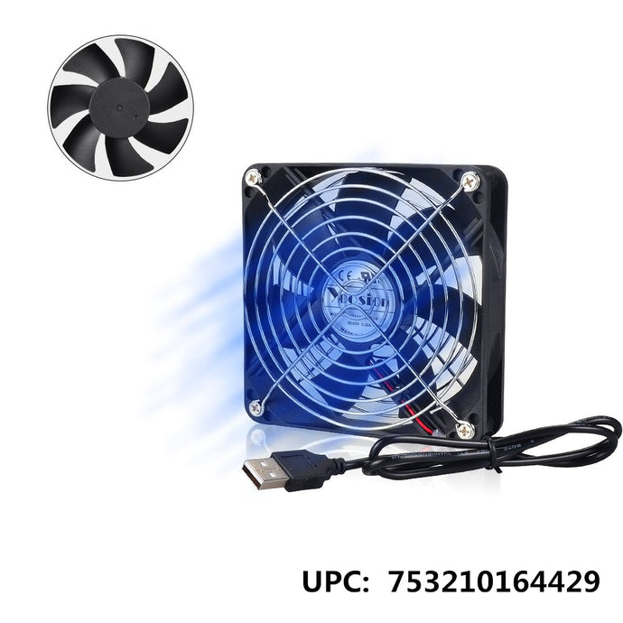 RegeMoudal USB Cooling Fan 120mm Ultra Quiet Cooling Fan for PC Computer Xbox Playstation TV Box 120mm USB Powered
