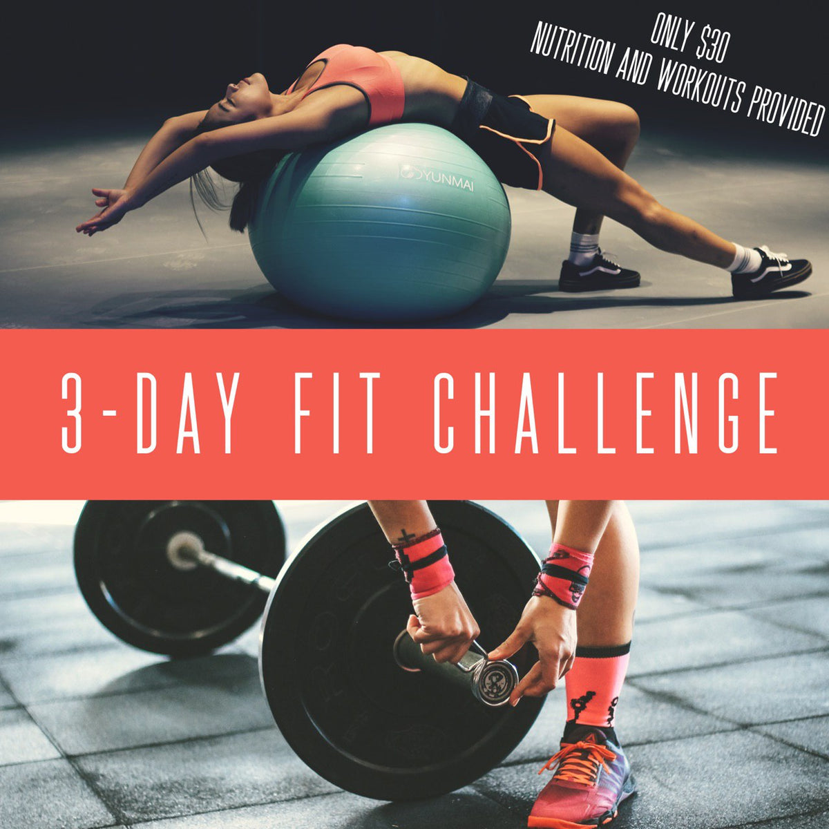 3 day challenges