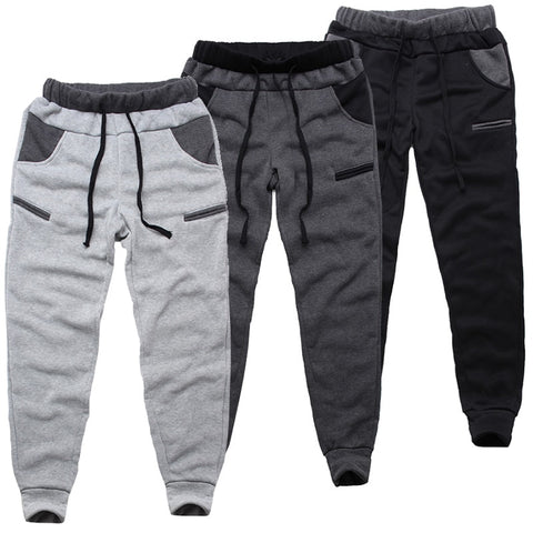 Fleece Joggers | Elastic Waist | Sweat Pants