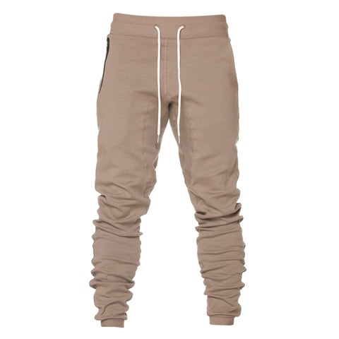 Solid | Zipper Pockets | Sweat Pants
