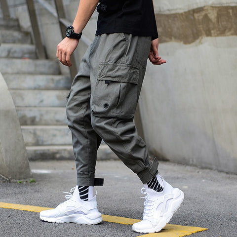 Jogger | Ankle Banded Big Pocket Cargo | Pants