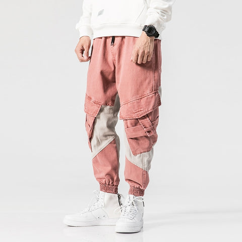 Pink Big Pocket Cargo | Tapered Fit | Pants