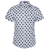 Big Polka Dot | Slim Fit | Short Sleeve Shirt