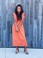 Not So Basic Dress -- Rust
