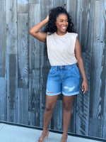 Oh Mama! |  Denim Shorts