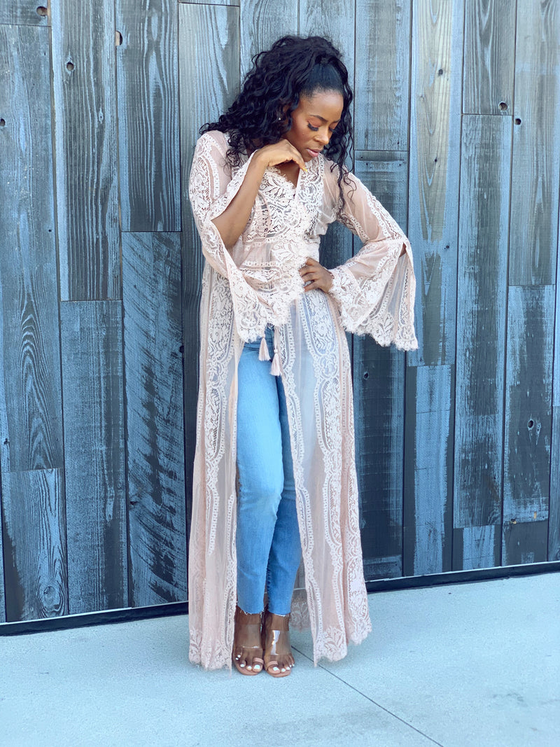 Tiana | Lace Cardigan/Cover Up