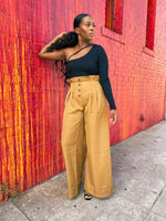Prim & Proper -- Wide Leg Pants