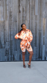 Easy Slay | Button Down Tie-Dye Set