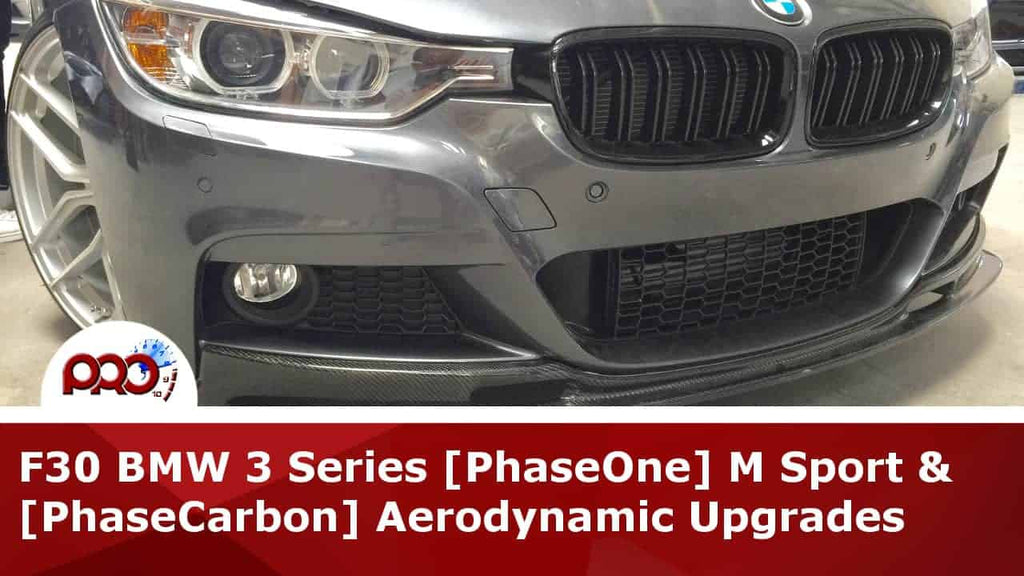 Customer Project: F30 BMW 3 Series Aerodynamic Upgrades