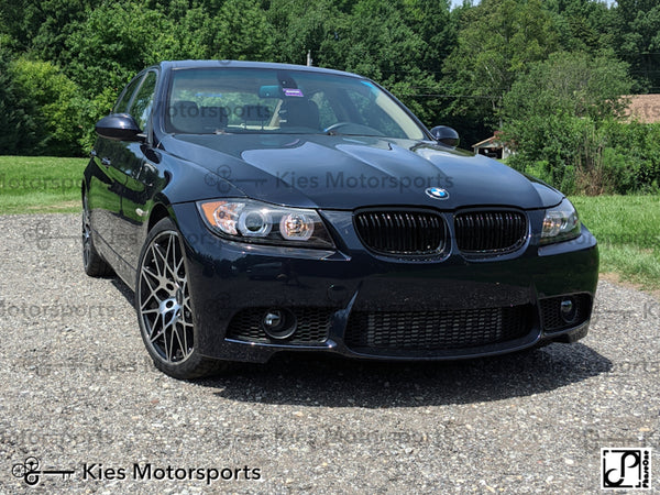 black e90 335 with m3 front 01