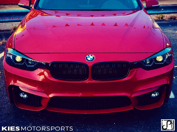 red f30 m3 front bumper