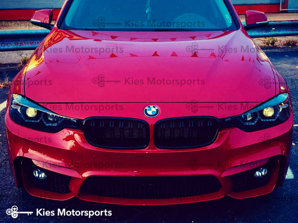 red f30 m3 style front bumper