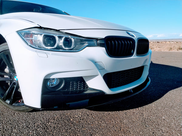 white f30 m sport m perf front 01