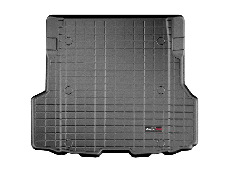 WeatherTech 2014+ BMW 4-Series Gran Coupe Cargo Liner - Black