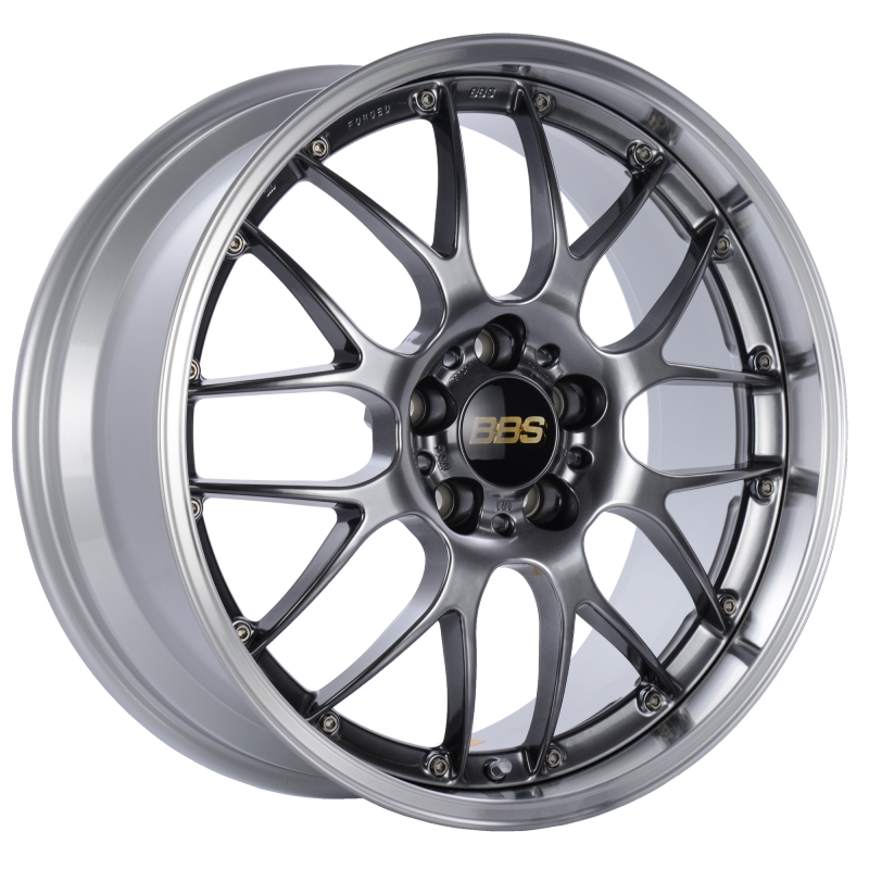 BBS RS-GT 18x8 5x130 ET50 CB71.6 Diamond Black Center Diamond Cut Lip Wheel