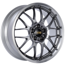 Load image into Gallery viewer, BBS RS-GT 18x8 5x130 ET50 CB71.6 Diamond Black Center Diamond Cut Lip Wheel