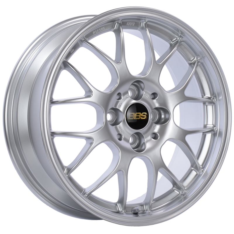 BBS RG-R 17x9 5x120 ET42 Diamond Silver Wheel -82mm PFS/Clip Required