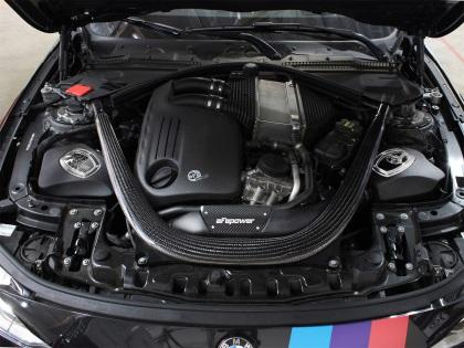 S55 M3, M4, M2 Competition Momentum Cold Air Intake System w/ Pro DRY S Media - Kies Motorsports