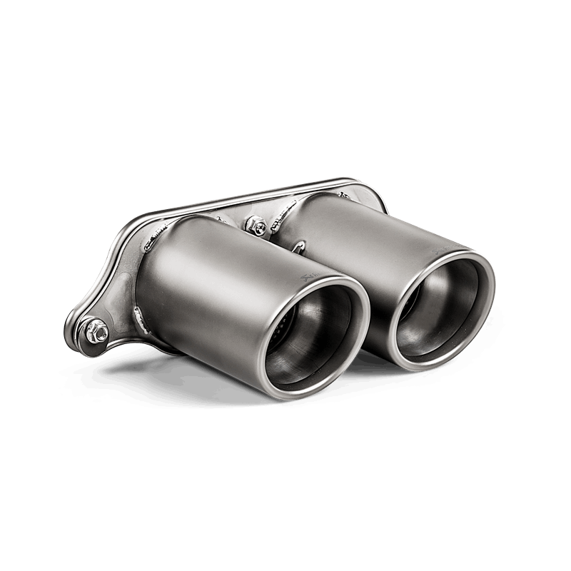 Akrapovic 2018 Porsche GT3 RS (991.2) Tail Pipe Set (Titanium)