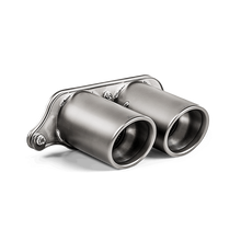 Load image into Gallery viewer, Akrapovic 2018 Porsche GT3 RS (991.2) Tail Pipe Set (Titanium)