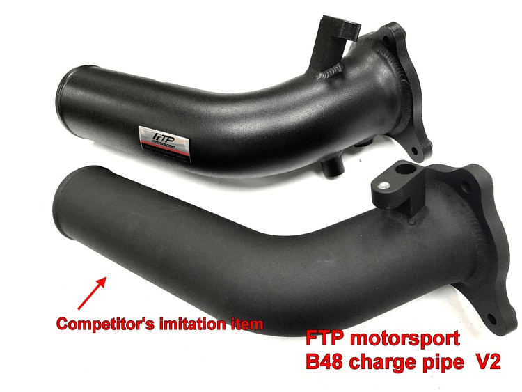 FTP BMW B48 B46 CHARGE PIPE V2