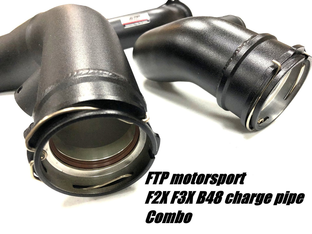 (PRE-ORDER) FTP F2X F3X B48 CHARGE PIPE COMBO V2 ( CHARGE PIPE+ INTAKE PIPE) - Kies Motorsports