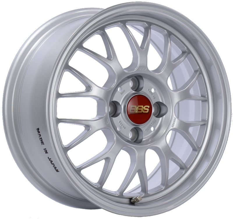 BBS RG-F 15x7 4x100 ET33 Sport Silver Wheel -70mm PFS/Clip Required